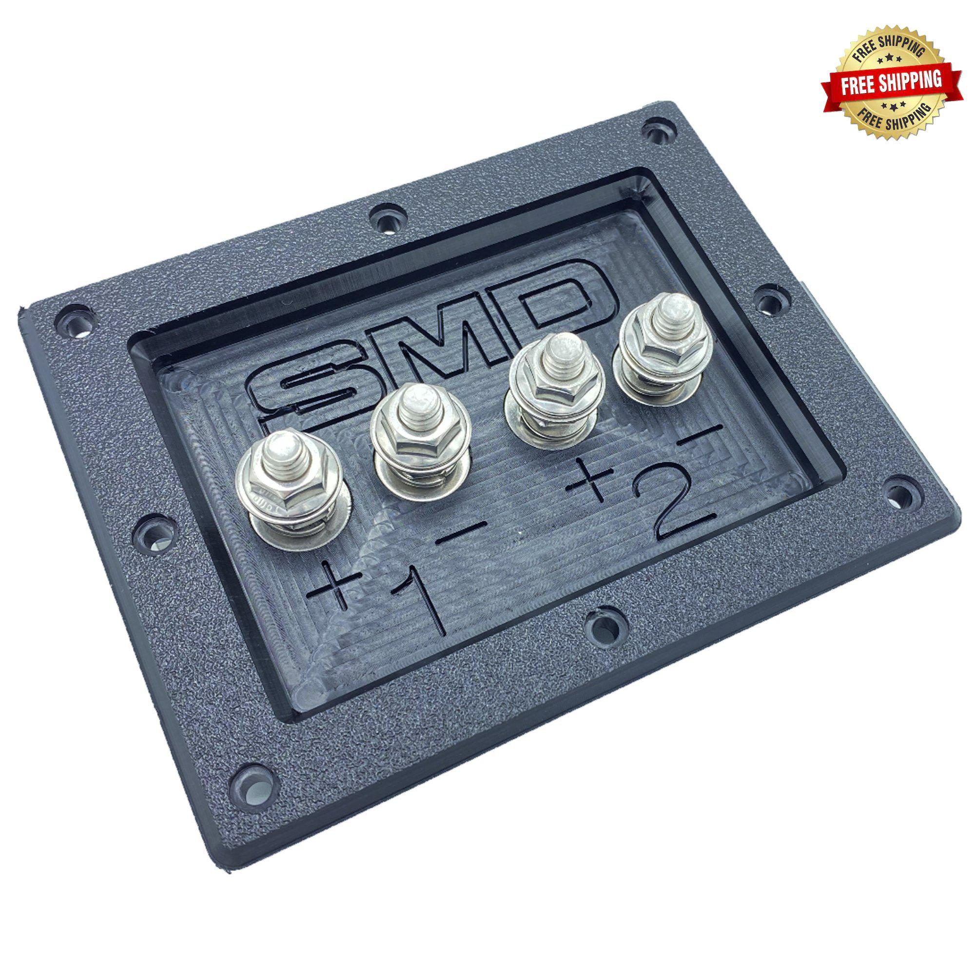 SMD Stereo Subwoofer Enclosure Terminal