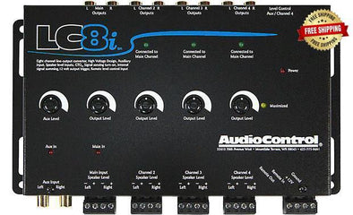 AudioControl LC8i 8 Channel Line Out Converter