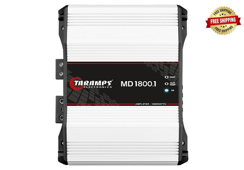 Taramps MD 1800.1 1,800 Watt Monoblock Amplifier 1-Ohm Stable