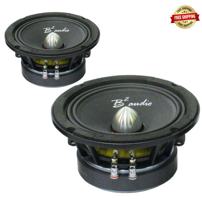 "B2 Audio Rage 6P 6.5"" Midrange Drivers (Pair)"