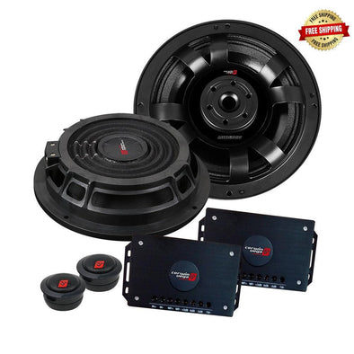 Cerwin-Vega Mobile VMAX Series 6.5″ Shallow Component Speakers