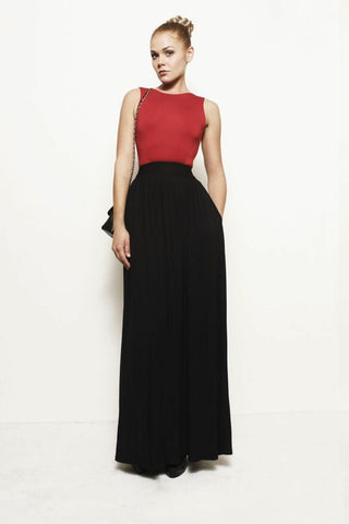 Charlotte, Backless Pocket Dress