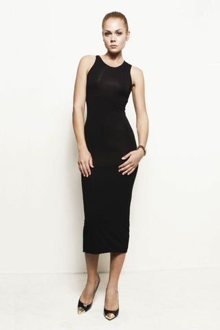 Holly, Asymmetrical Tank Dress
