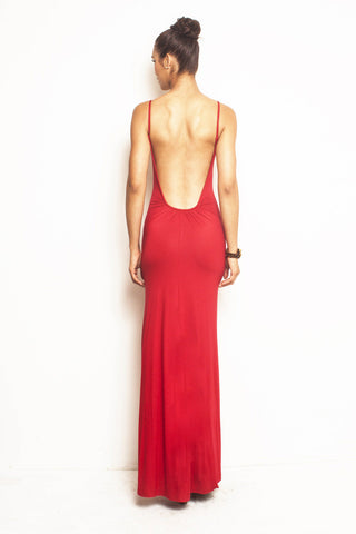 Michelle, Backless Maxi Dress