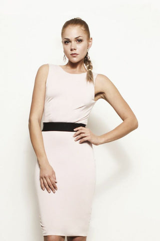The Vanessa, Backless Cutout Shift Dress