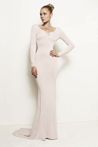Vivien, Backless Train Dress Gown