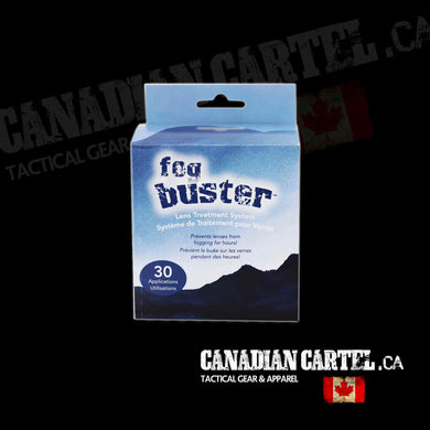 FogBuster Anti-Fog Wipe-30 unit display