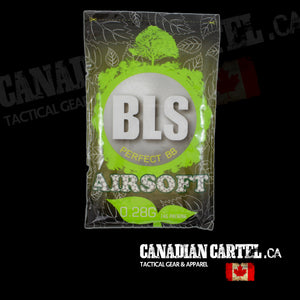 Perfect Airsoft .20g BIO BBs - White (5000ct)