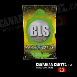 Perfect Airsoft .25g BIO BBs White BB (4000ct)