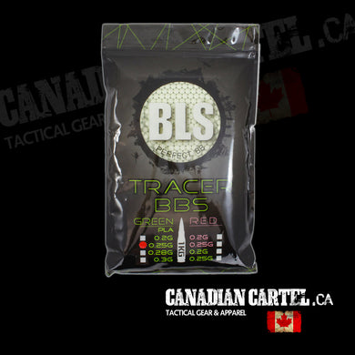 Perfect Airsoft .25g BIO Tracer BBs Green (4000ct)