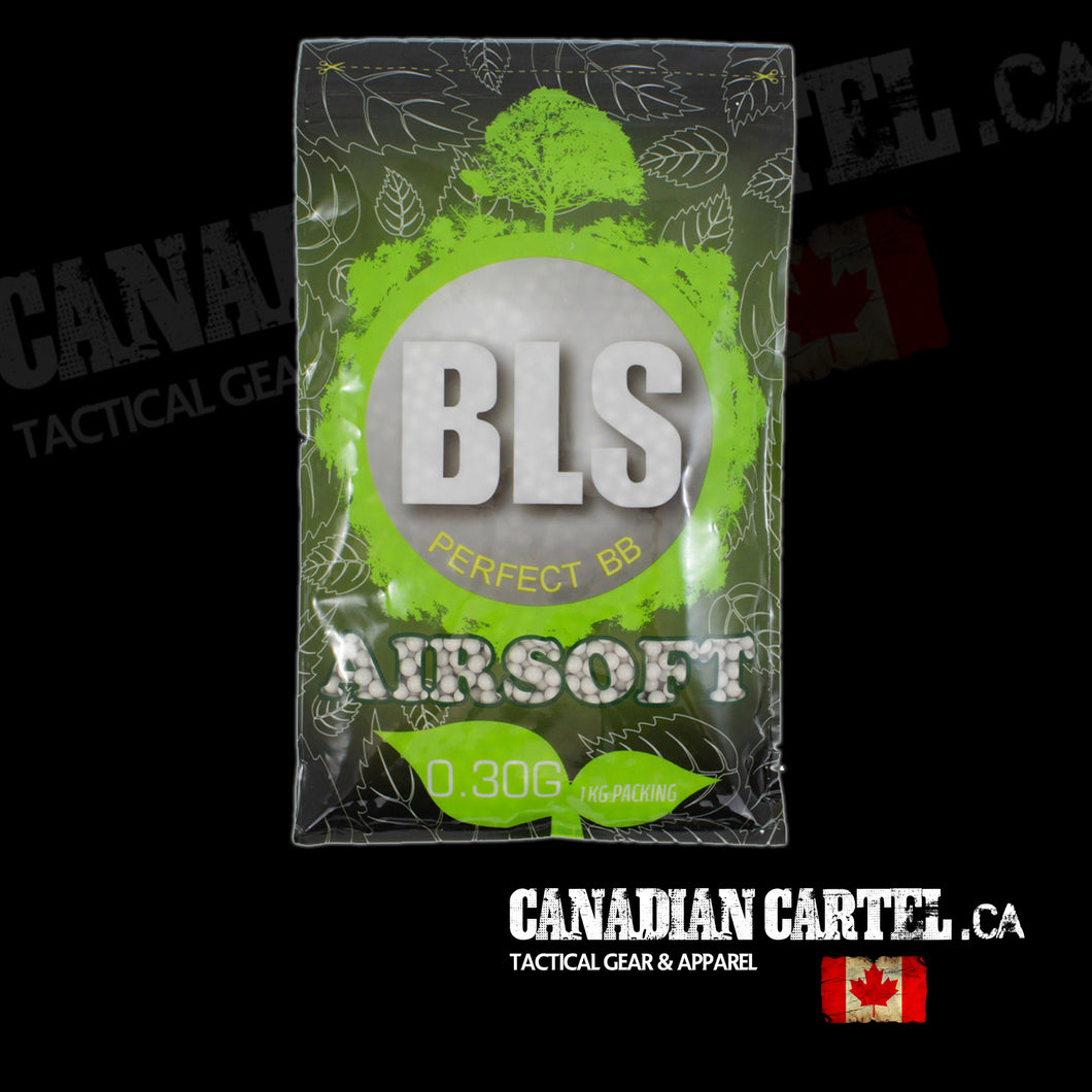 Perfect Airsoft .30g BIO BBs White BB (3333ct)