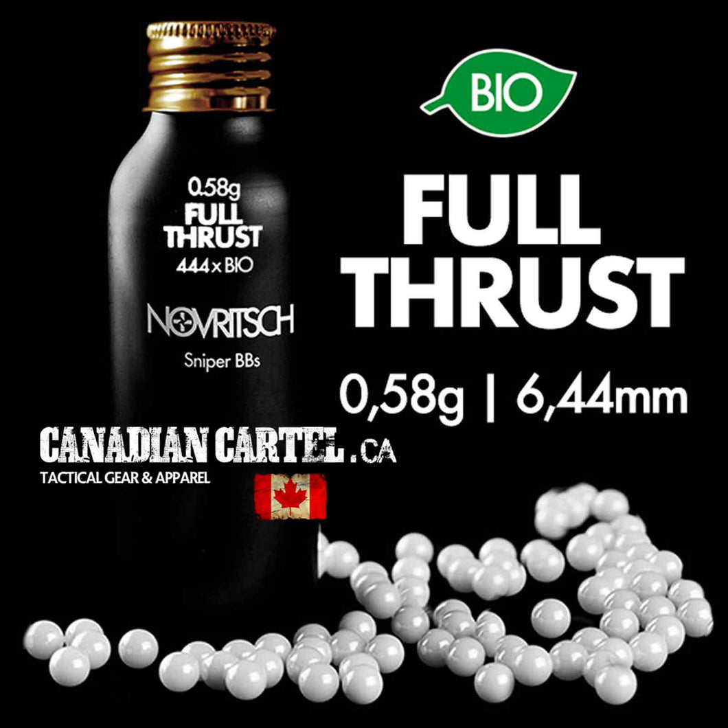 0.58g x 444pcs FULL THRUST BIO BBs