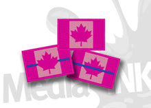 Load image into Gallery viewer, Canada Flag Hot Pink/Pink