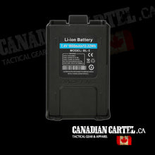 Load image into Gallery viewer, Li-ion Battery for Baofeng UV-5R Series (1800MAH)