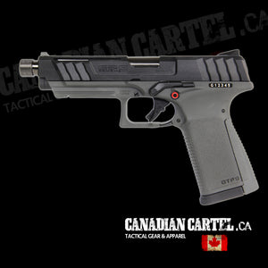 GTP9 Gas Blowback Pistol Black/Grey (Green Gas)