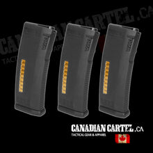 Load image into Gallery viewer, MS120c Adjustable ERG/AEG2.5/AEG3 Mid-Cap Magazines- 3 Pack