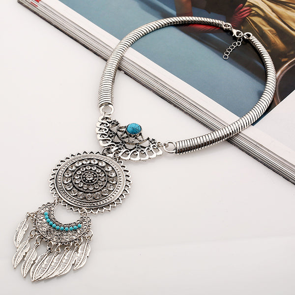 The only bohemian necklace you will need