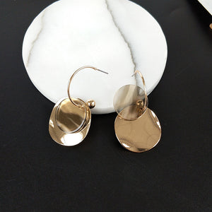 Hanging Hoop Earrings