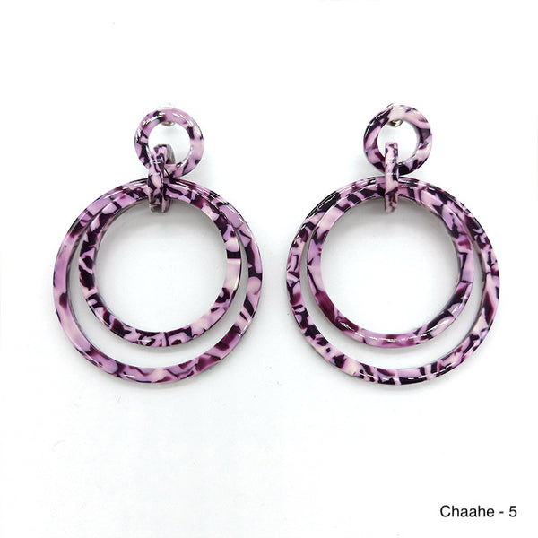 The acrylic double hoops