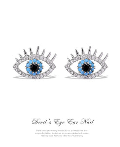 The Eye Stud S925 Silver