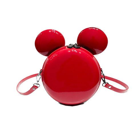 Shiny Cute Mickey Crossbody Bag