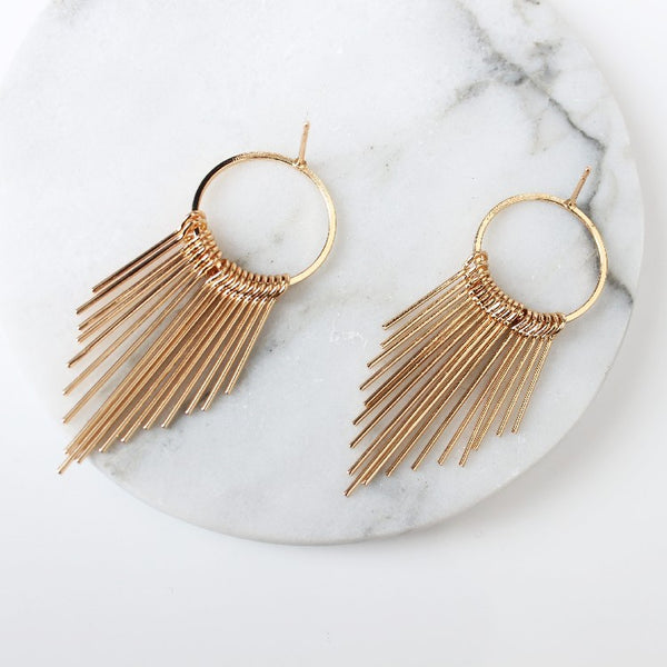 Dangle Tassel Earrings