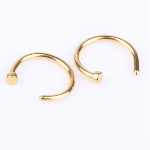 Fashion Fake Septum Medical Titanium Body Piercing