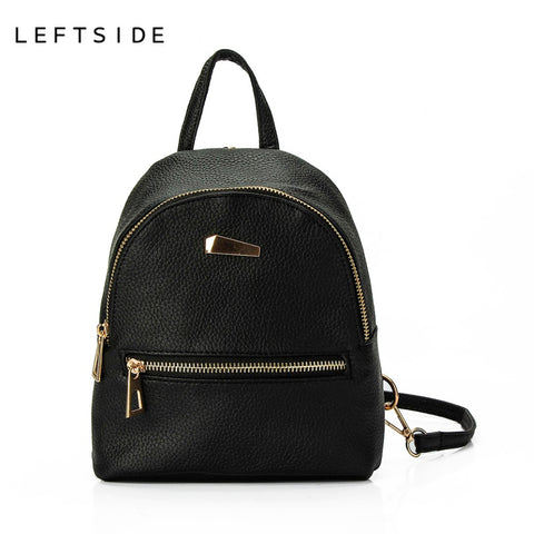 Cute Mini Zipper backpack