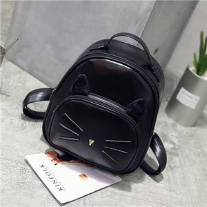 Cute Cat Mini Bagpack