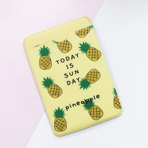 Cute ID Card Holder Case Cartoon - Business, Bus, Bank, Credit Card Cover  Transparent PVC