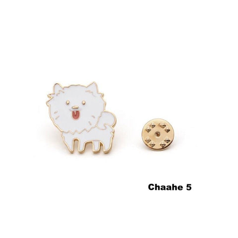 Cute animal brooches
