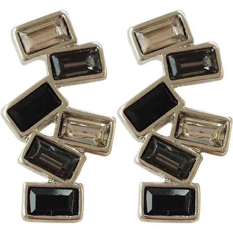 The black & white stone studs