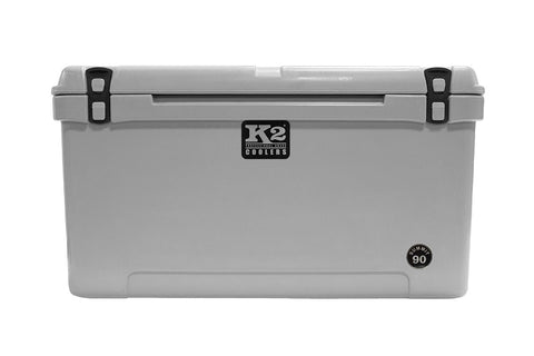 K2 Cooler Summit Series Summit 90 Steel Grey Front