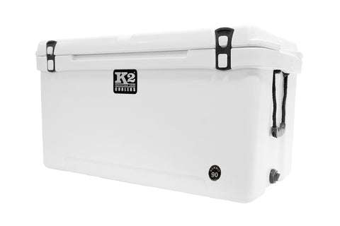 K2 Cooler Summit Series Summit 90 Glacier White Hard Angle