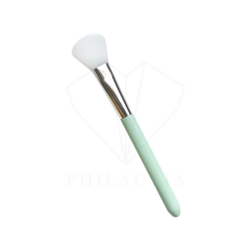 Round Silicone Face Mask Brush (Mint)