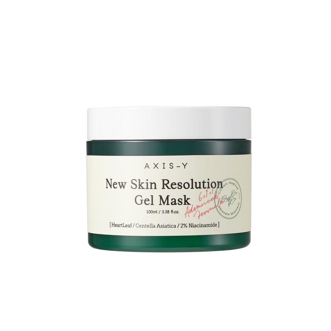 New Skin Resolution Gel Mask