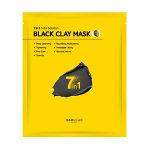 7 in 1 Total Solution Black Clay Mask