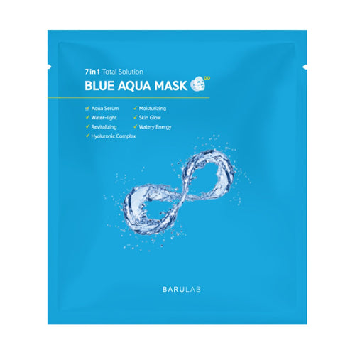 7 in 1 Total Solution Blue Aqua Mask