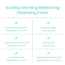 Load image into Gallery viewer, Sunday Morning Refreshing Cleansing Foam