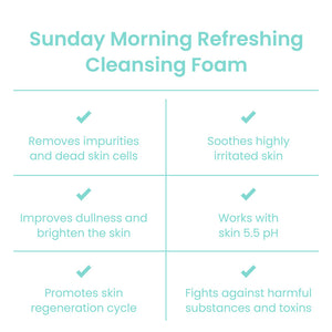 Sunday Morning Refreshing Cleansing Foam
