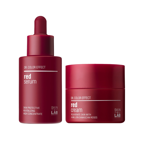 Red Brightening Duo Set