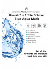 Load image into Gallery viewer, 7 in 1 Total Solution Blue Aqua Mask (Bundle)