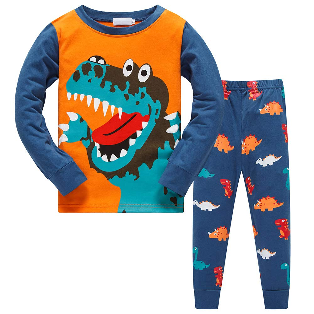 Cotton Kids Dinosaur Pyjamas