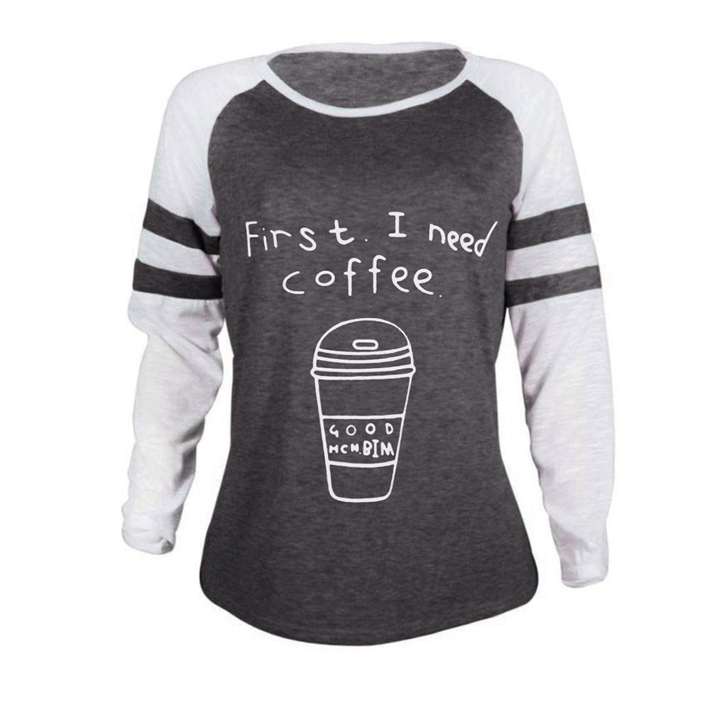 Women's Round Neck Long Sleeve Raglan Top