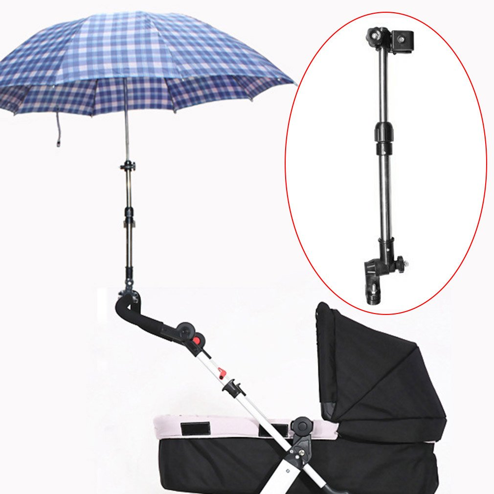 Adjustable Pushchair Umbrella Attachment