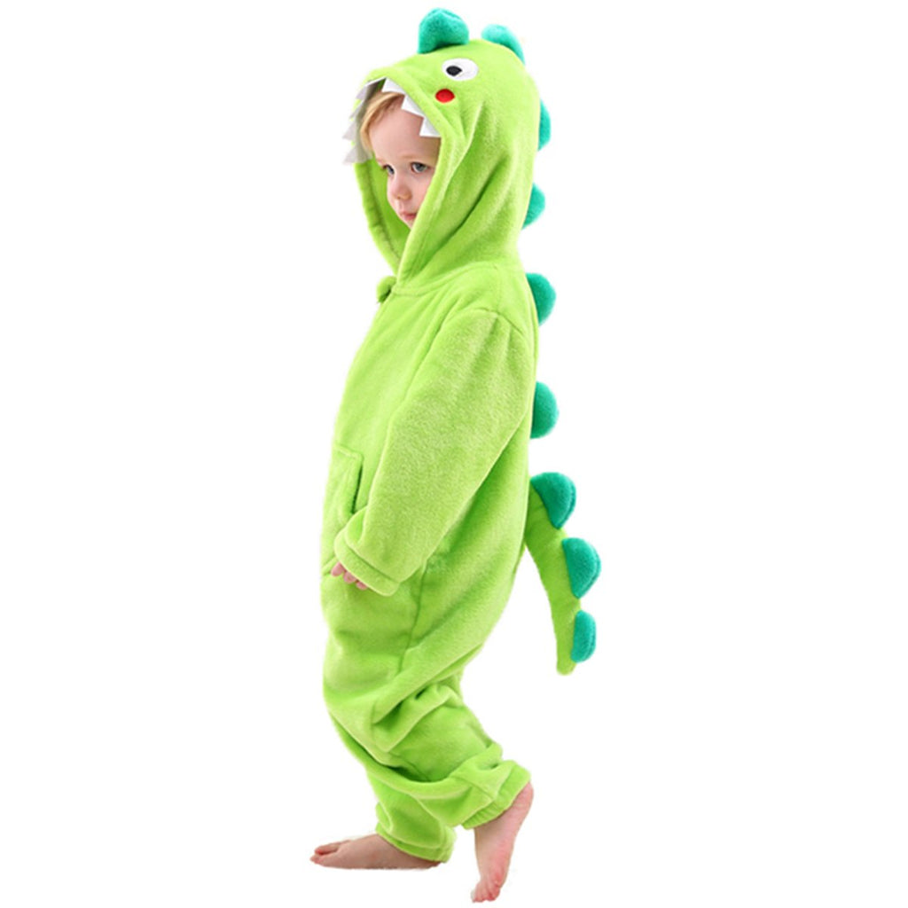 Dinosaur Costume Kids Fancy Dress Onesie Sleepsuit