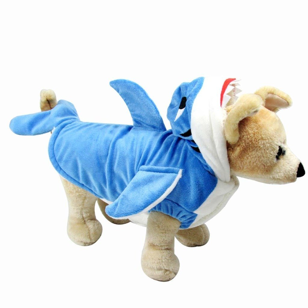 Funny Dog Shark Costume