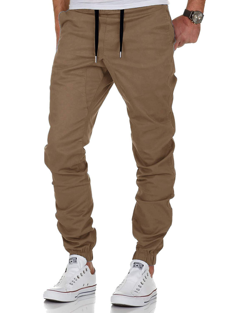 Chino Jogger Pants Loose Trousers