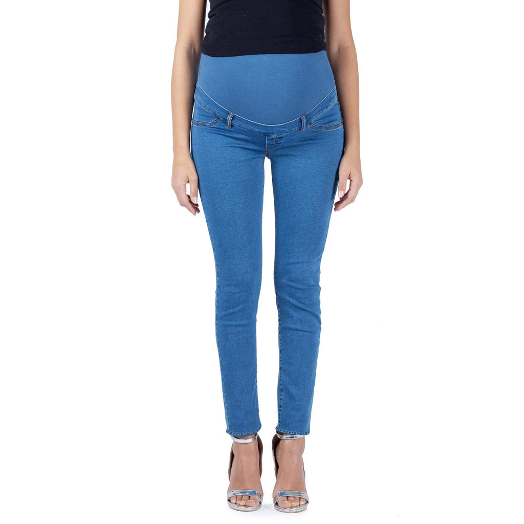 Cotton Stretch Maternity Jeggings