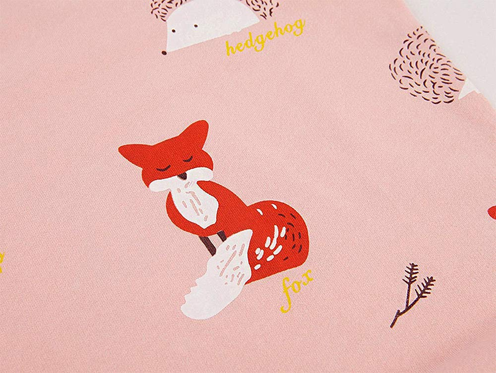 Kids Cotton Christmas Fox Sweatshirt